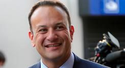 Mr Varadkar said the referendum was not a test of his authority. Photo: Colin Keegan, Collins Dublin.