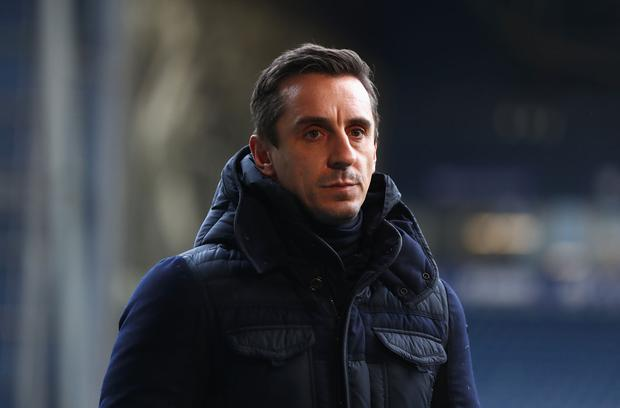 Gary Neville says Manchester United fans have become 'idealistic' when looking back at the football played under Alex Ferguson. Photo: Getty