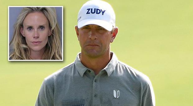 US golfer Lucas Glover's wife arrested for domestic violence for allegedly attacking husband and his mother after poor round