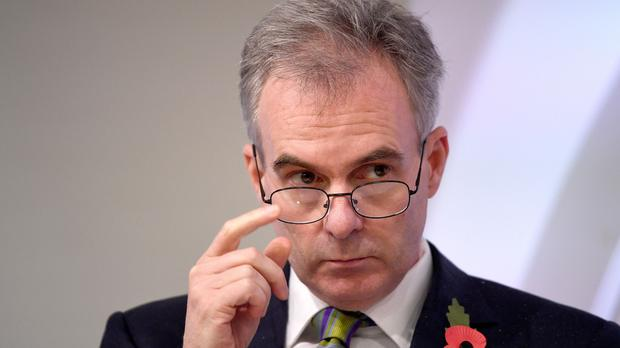 Bank of England deputy governor Ben Broadbent has apologised amid a backlash after he described the UK economy as 'menopausal' (Stefan Rousseau/PA)