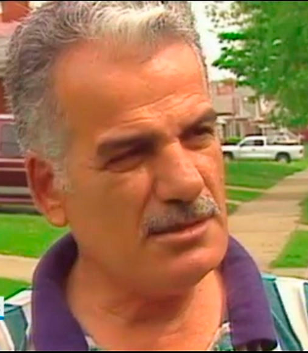 Mahmound Bazzi pictured in an RTÉ documentary in 2000
