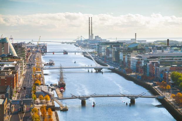 The high volume of large developments in the Dublin Docklands is driving up construction costs