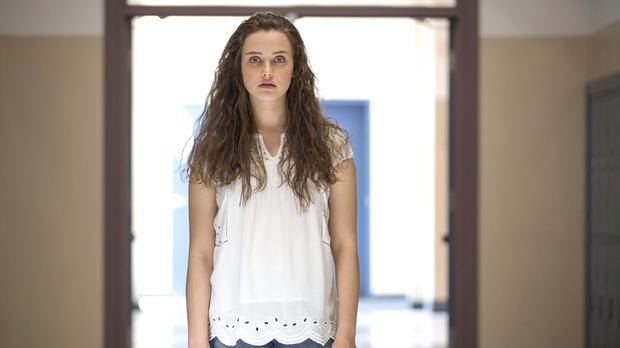 Katherine Langford plays Hannah Baker in 13 Reasons Why (Beth Dubber/Netflix)