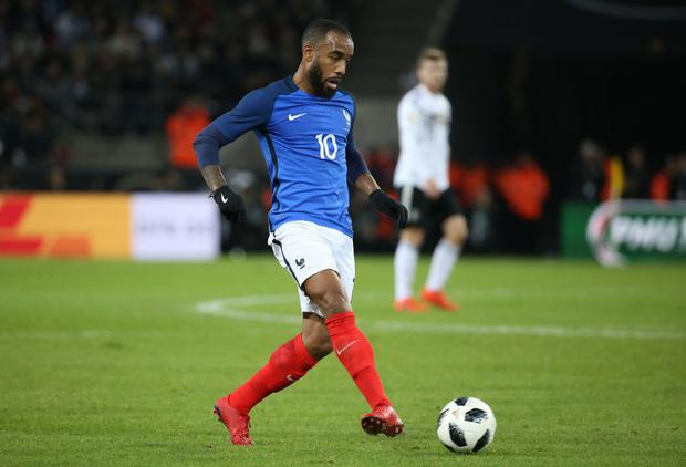 Injured Payet, Lacazette excluded from France squad