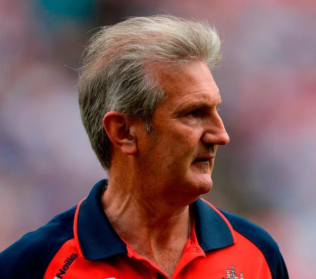 Former Cork hurling manager Kieran Kingston. Photo: Piaras Ó Mídheach/Sportsfile