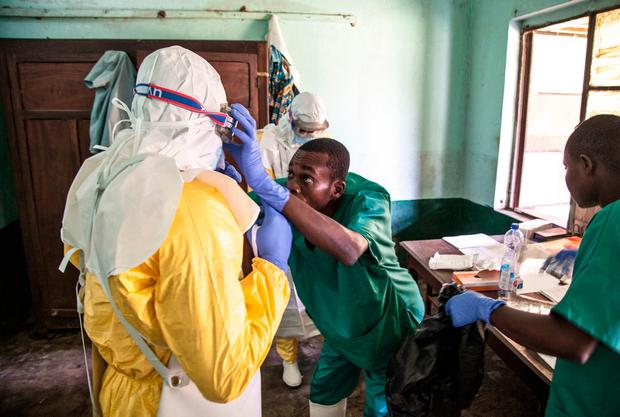 Congo's Ebola outbreak reports 1st confirmed urban case