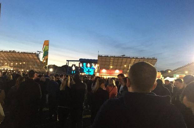 John O'Keefe attended the Ed Sheeran concert at Croke Park and his photo illustrates how many fans remained behind the seated area. PIC: John O'Keefe/Twitter