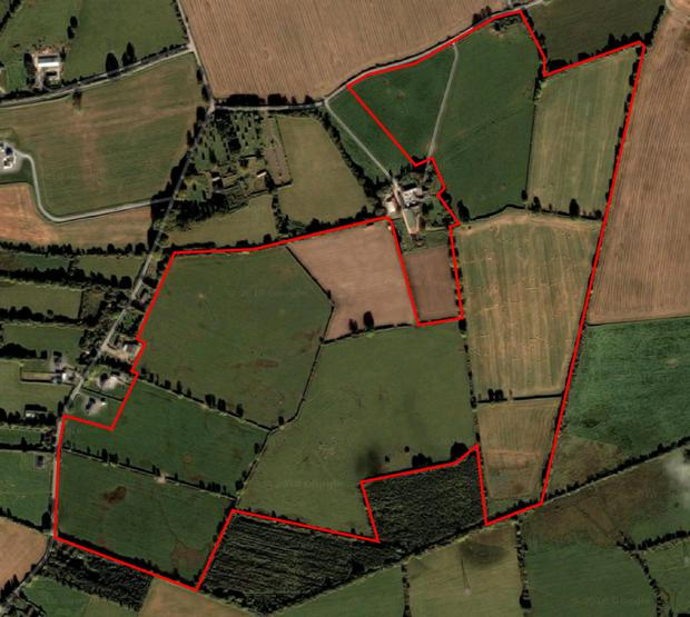 The farm is located 6km from Edenderry, 9km from Carbury and 11km from Kinnegad. Pictures: Wilsons Auctions
