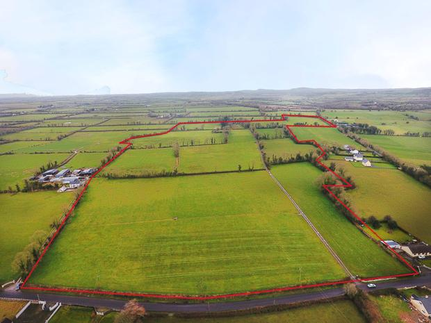 The 68ac holding is located near Bruff in Limerick.