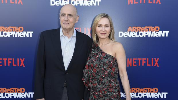 Jeffrey Tambor, seen here with his wife, stars in Arrested Development. (Richard Shotwell/Invision/AP)