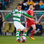CHANCE TO IMPRESS: Shamrock Rovers striker Graham Burke will get a chance to shine in Scott Brown's testimonial tomorrow at Celtic Park. Photo: Sportsfile