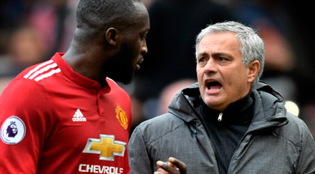 FINAL CALL: Manchester United manager Jose Mourinho will be hoping striker Romelu Lukaku will be fit for today's FA Cup final against Chelsea. Photo: Getty Images
