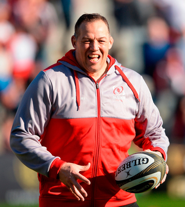 Jono Gibbes. Photo: Sportsfile