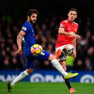 Nemanja Matic's switch from London to Manchester has weakened Antonio Conte's midfield options. Photo: Getty Images