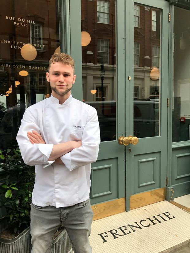 Adam Purcell, executive sous chef at Frenchie Covent Garden, London