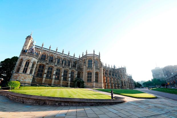 A general view of St George's Chapel in Windsor Castle ahead of the wedding of Prince Harry and Meghan Markle. PRESS ASSOCIATION Photo. Picture date: Saturday May 19, 2018. See PA story ROYAL Wedding. Photo credit should read: Chris Jackson/PA Wire