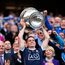 17 September 2017; Dublin captain Stephen Cluxton lifts the Sam Maguire cup after the GAA Football All-Ireland Senior Championship Final match between Dublin and Mayo at Croke Park in Dublin. Photo by Stephen McCarthy/Sportsfile