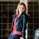 Amy Huberman, who has written a new TV comedy called 'Finding Joy'. Photo: Frank McGrath