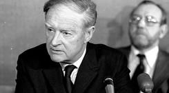 The late Liam Cosgrave pictured in 1977