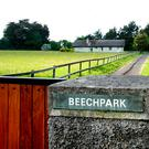 MODEST BUNGALOW: Beech Park, the home of the late Liam Cosgrave, on Scholarstown Road, Knocklyon. Photo: Gerry Mooney