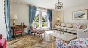 Fairways in Dun Laoghaire is the latest of Cosgrave's energy-efficient home schemes to launch at Cualanor: Spacious living room.