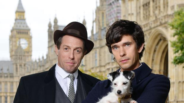 Hugh Grant and Ben Whishaw in A Very English Scandal (Kieron McCarron/BBC)
