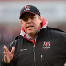 13 April 2018; Ulster head coach Jono Gibbes prior to the Guinness PRO14 Round 20 match between Ulster and Ospreys at Kingspan Stadium in Belfast. Photo by Oliver McVeigh/Sportsfile