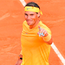 Spain's Rafael Nadal celebrates after winning the Men's final at Rome's ATP Tennis Open. Photo: Getty Images