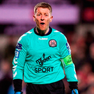 Bohemians goalkeeper Shane Supple. Photo: Stephen McCarthy/Sportsfile