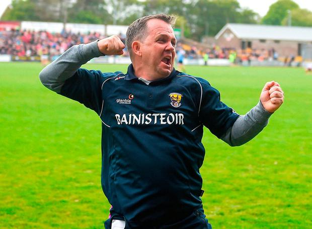 Wexford manager Davy Fitzgerald. Photo by Daire Brennan/Sportsfile