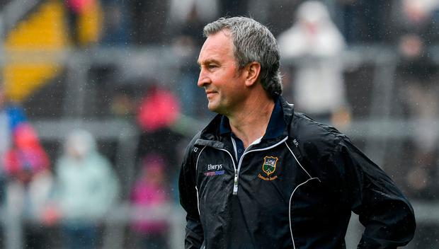 Tipperary manager Michael Ryan near the end of the Munster GAA Hurling Senior Championship Round 1 match between Limerick and Tipperary at the Gaelic Grounds in Limerick. Photo by Ray McManus/Sportsfile