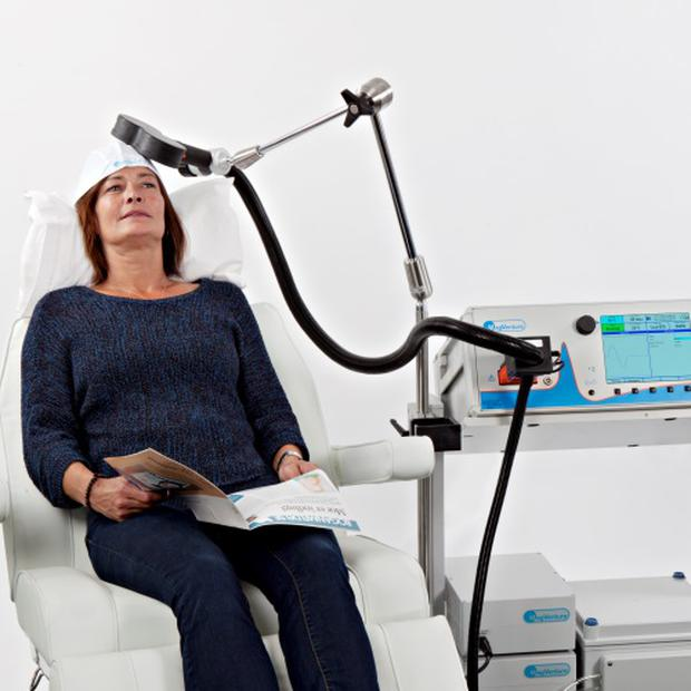 Clinic offering magnet therapy treatment for people