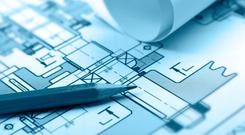 Professional services such as architecture and engineering are still lagging behind the 2007 peak. Stock Image