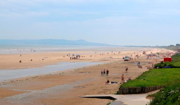 Portmarnock Beach in Dublin. Photo: Colin Keegan