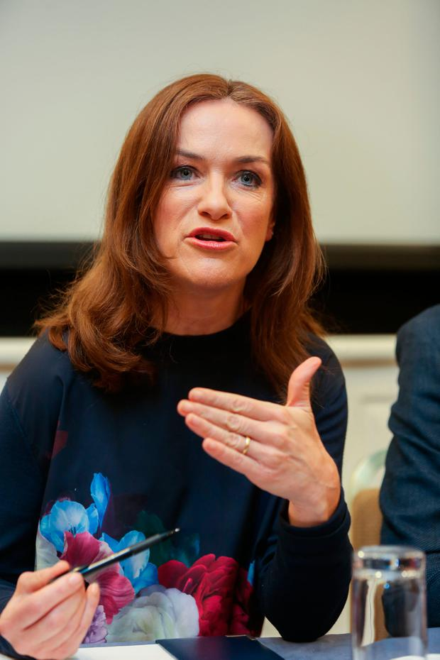 Holles Street Master Rhona Mahony called for a Yes vote on Friday. Photo: Gareth Chaney