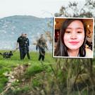 The search for Jastine Valdez (right) who is thought to have been abducted and murdered by Mark Hennessy (left).