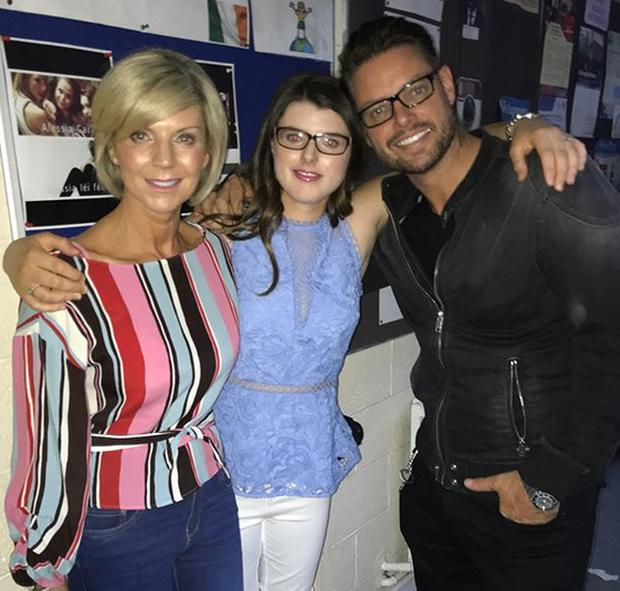 Lisa and Keith Duffy with their daughter Mia. Picture: Instagram