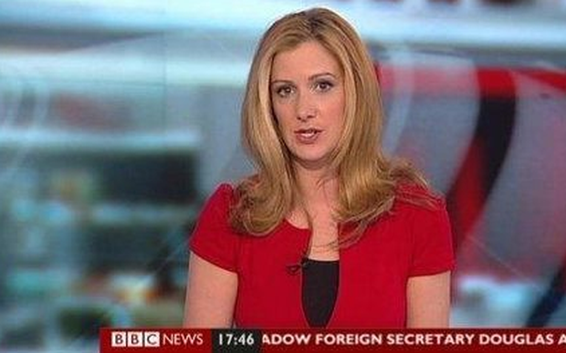 Rachael Bland has revealed she has incurable breast cancer. Photo: BBC News