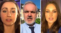Katie Ascough, Colm O'Gorman and Roz Purcell all say why they're voting what they're voting in five words or less