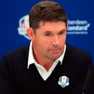 Padraig Harrington would draw on his popularity in America. Photo: PA