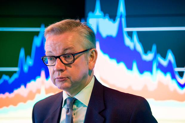 British Environment Secretary Michael Gove Photo: Dominic Lipinski/PA Wire