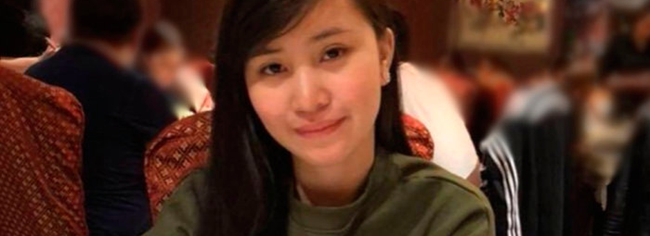 Jastine Valdez was enjoying life following her move from the Philippines