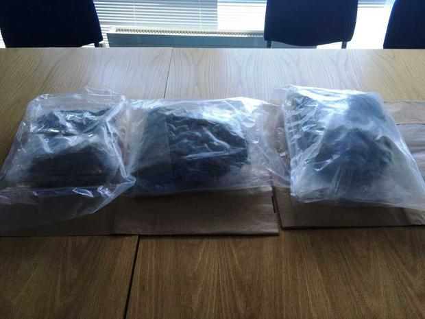 Picture of the cannabis seized Photo: Garda Press Office