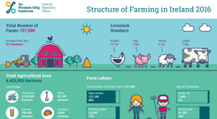 Structure on Farming in Ireland 2016.