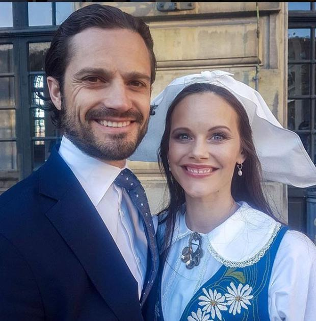 Sweden's Prince Carl Philip and Princess Sofia. Picture: Instagram