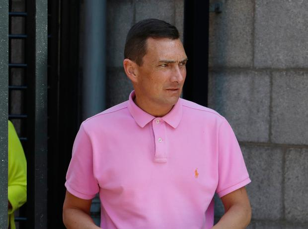 Albert Doyle (34) from Drimnagh, Dublin pictured leaving the Four Courts after he appeared before the Dublin District Court in relation to social welfare fraud offences.Pic: Collins Courts