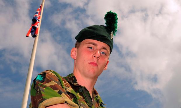 Ranger Michael Maguire from Cork, who was shot dead during live-fire training