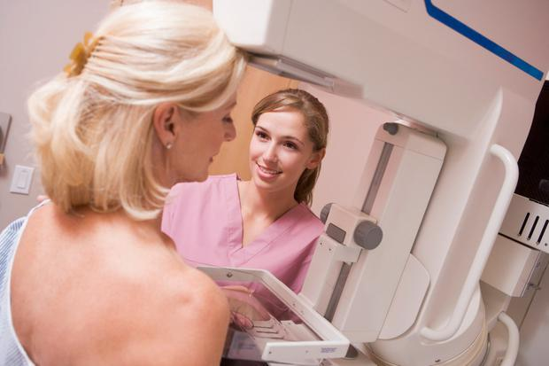 Around two in every 1,000 women who have a mammogram with BreastCheck develop an 'interval' cancer between screenings. Stock picture