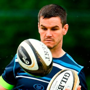 Jonathan Sexton during Leinster Rugby squad training at UCD in Belfield, Dublin. Photo by Sam Barnes/Sportsfile