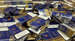 The cigarettes were discovered in Co Meath Photo: Revenue